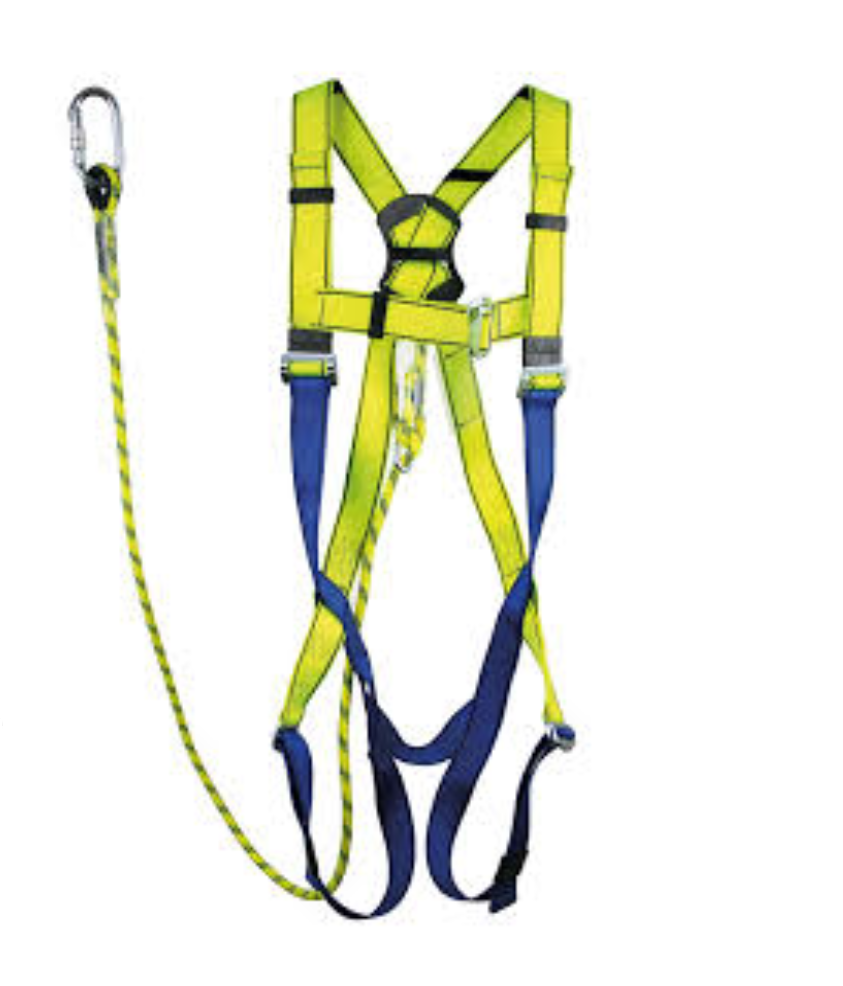 Safety Harness Kit with Single Hook