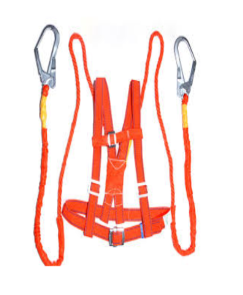 safety harness kit with double hook